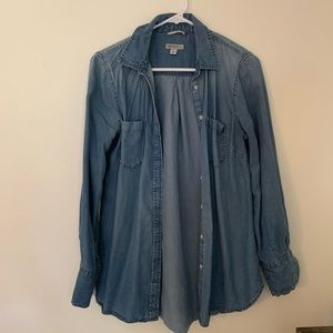 Merona Chambray Shirt - Medium Wash